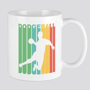 Retro Dodgeball Mugs